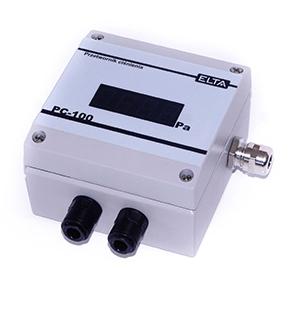 PC-100 przetwornik różnicy ciśnień z linearyzacją i wyjściem 4-20 mA