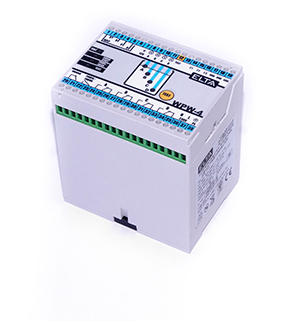 WPW-4/P czterokanałowy regulator poziomu cieczy przewodzących – programowalny